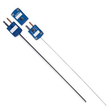 OMEGA 附带小型连接器的铠装热电偶,SCAXL-020G-12,快速拔插 不锈钢外壳