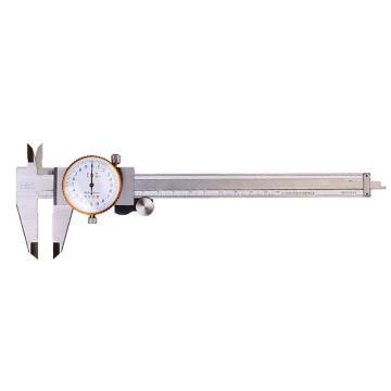 上工 不锈钢带表卡尺,0-200mm*0.01,不含第三方检测