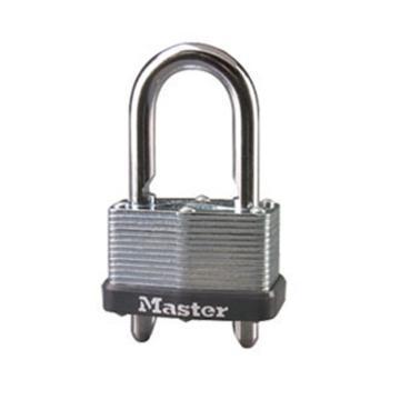 瑪斯特鎖MasterLock 雙橫閂無膽千層鎖,7mm鎖鉤,24-51mm可調鎖鉤凈高,44mm寬,510MCND