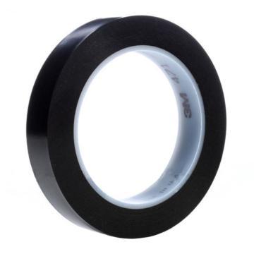 3M 聚氯乙烯胶带,15mm×33m,黑色,471