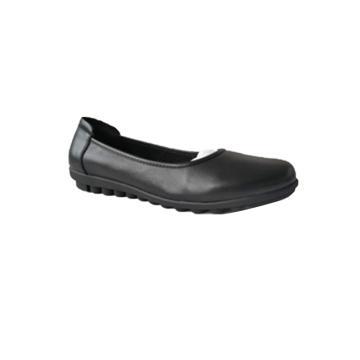女式黑色单皮鞋,防静电,35