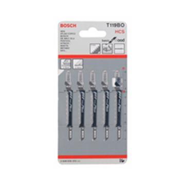 博世曲线锯条,经济效益型(工具钢) T119BO 5条/包,2608630310