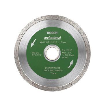 博世云石片,105mm 連續式瓷磚專用(專業級),2608600704
