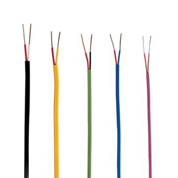OMEGA K型熱電偶延長線,EXTT-K-24-1000,1000英尺/卷,PFA絕緣層 防水耐磨 耐溫200℃