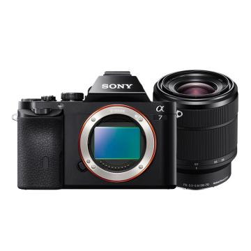 索尼微單數碼相機,全畫幅(約2430萬像數)ILCE-7K(含SEL28-70鏡頭)