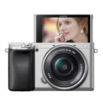索尼微單數碼相機,半畫幅(約2420萬像數)ILCE-6400L(含SELP16-50鏡頭)