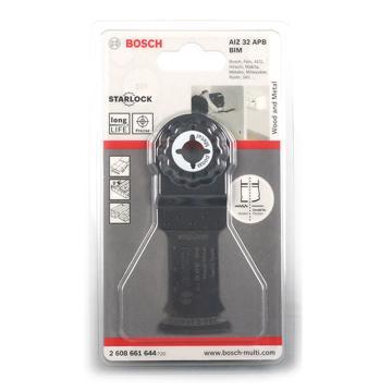博世多功能打磨机用锯条, 针对木材塑料金属等切割,2608661644