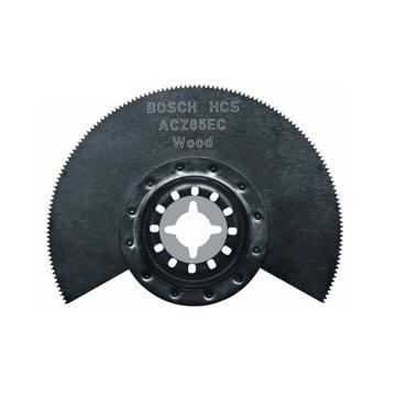 博世多功能打磨机用扇形锯片,ACZ 85 EC GOP专用 针对木材、PVC切入式切割,2608661643