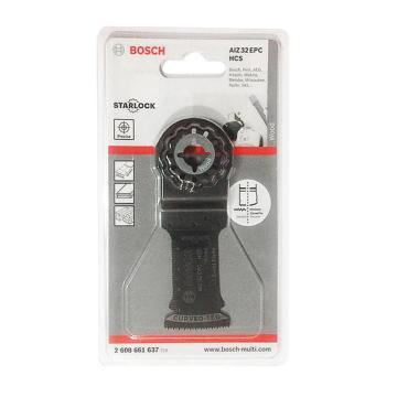 博世多功能打磨机用锯条,AIZ 32 EC GOP专用 针对硬木切入式切割,2608661637