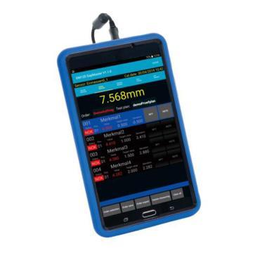 英示INSIZE 数显塞尺 ,ISE-DF10,分辨率3-5μm,测量精度±0.03