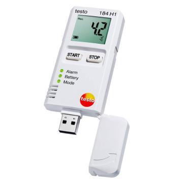 德图/testo 184 H1 - USB型温湿度记录仪,0572 1845