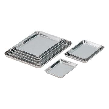 """亚速旺(ASONE)不锈钢方形托盘(浅型) 15""""(1个),4-5309-07"""