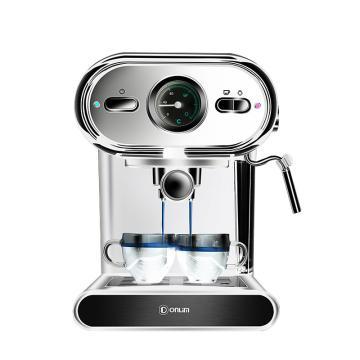 東菱(Donlim)咖啡機家用,DL-KF5002 20Bar高壓萃取 可視化控溫 蒸汽打奶泡