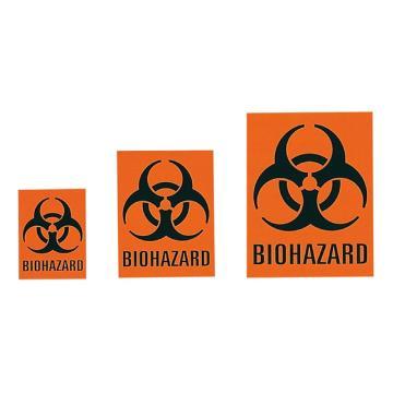 亚速旺实验室用生物危害标签 KBH-1 60片