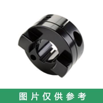Ruland MOCC-十字滑塊聯軸器輪轂,夾緊式,帶鍵槽,公制,鋁合金,MOCC25-12-A