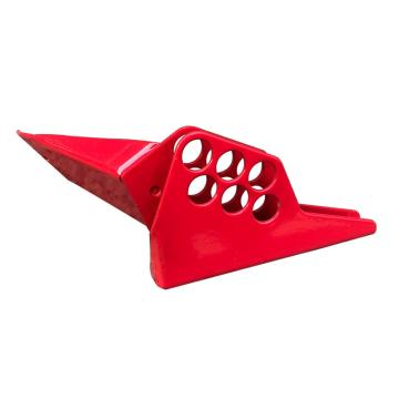 安赛瑞 球阀安全锁具(大号),钢制,红色,37007