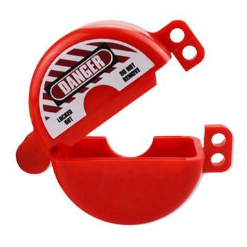 安賽瑞 儲罐氣嘴鎖具,閥桿Φ3.2cm,ABS工程塑料材質,紅色,37044