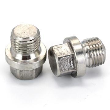 DIN910六角頭螺塞,G1/4,不銹鋼304,洗白,150個/盒