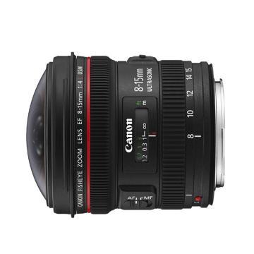 佳能Canon 數碼單反鏡頭,魚眼鏡頭 EF 8-15mm f/4L USM