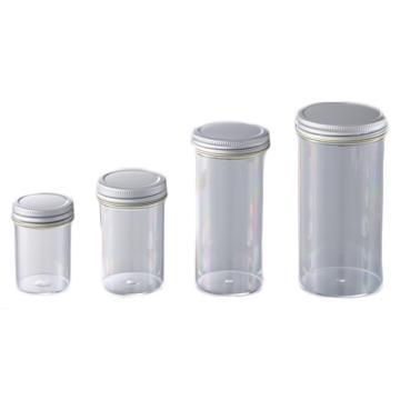 亚速旺PS螺旋口瓶(带密封垫) MSC60 1袋(60个)