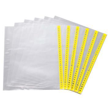 亞速旺(ASONE)防靜電資料備用袋(透明)A4(30孔用) 1袋(100片),C1-3932-01