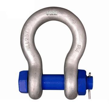 巨力 S6级弓型带销卸扣,额定载荷(t):9.5 开口尺寸(mm):46,S-BX9.5-1 1/8
