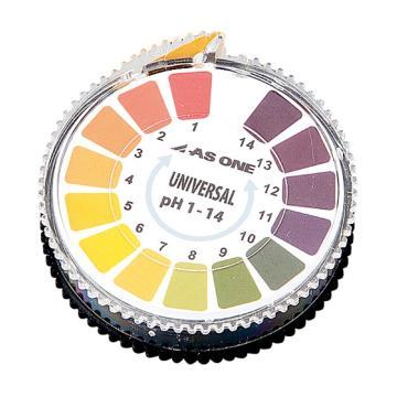 亚速旺AS ONE pH试纸 pH0.5-5.0 瓶型(150个/盒)