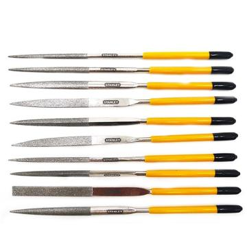 史丹利金刚石整形锉,10件套,3X140mm,22-322-23