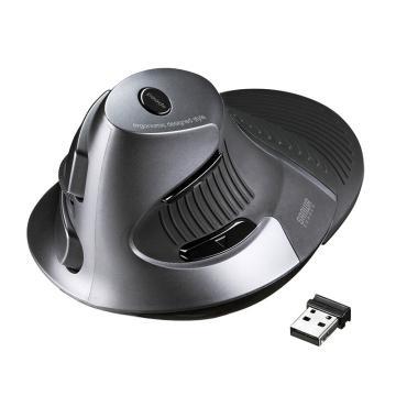 山業SANWA SUPPLY 人體工學鼠標 無線 豎握式MA-ERGW6 1個