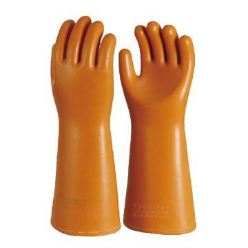 安全牌 橡胶带电作业用绝缘手套,35kv
