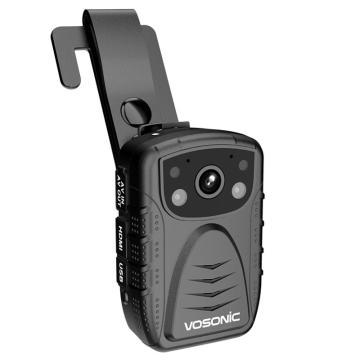 群華(vosonic)D5專業級執法記錄儀,高清紅外夜視便攜式現場記錄64G 單位:個