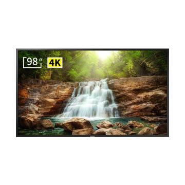 松下(panasonic)98英寸液晶顯示器商用大屏廣告機展示4k高清多媒體顯示屏支持無線同屏 保修3年