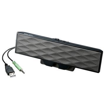 山业SANWA SUPPLY USB电源音响MM-SPL11UBK 1个