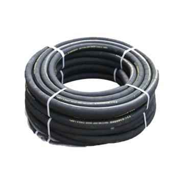 西域推荐 黑色夹布高压胶管,20米/盘