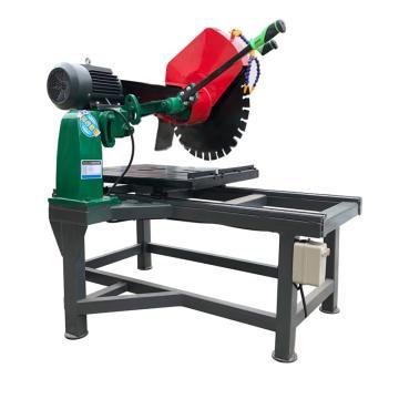 京莱机械 石材切割机,耐火砖花岗石大理石切石机,含架子,380V 4KW 锯片600mm