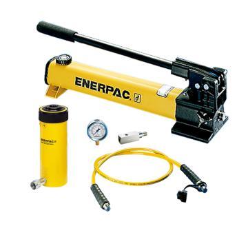 恩派克ENERPAC 中空柱塞液压缸套装,30ton,155mm,RCH-306(含油缸+泵+软管+表+表座)