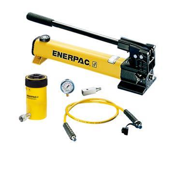 恩派克ENERPAC 中空柱塞液压缸套装,30ton,64mm,RCH-302*(含油缸+泵+软管+表+表座)