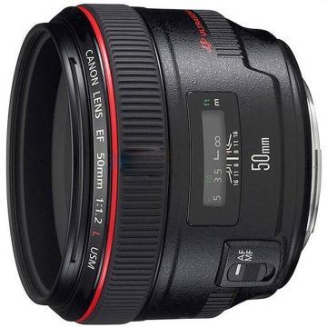 佳能Canon 数码单反镜头,标准定焦镜头 EF 50mm f/1.2L USM
