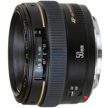 佳能Canon 数码单反镜头,标准定焦镜头 EF 50mm f/1.4 USM