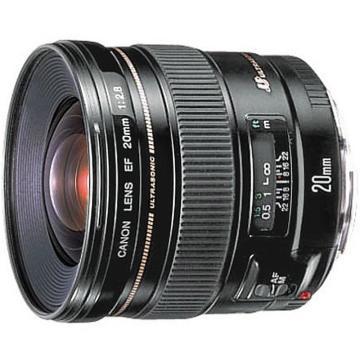 佳能Canon 數碼單反鏡頭,廣角定焦鏡頭 EF 20MM F/2.8 USM