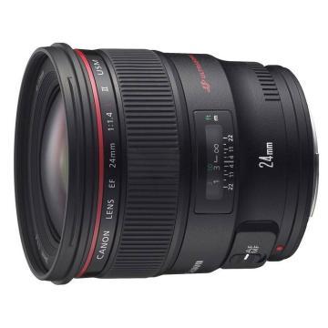 佳能Canon 數碼單反鏡頭,廣角定焦鏡頭 EF 24MM F/1.4 L II USM