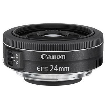 佳能Canon 數碼單反鏡頭,標準定焦鏡頭 EF-S 24mm f/2.8 STM