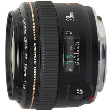 佳能Canon 數碼單反鏡頭,廣角定焦鏡頭 EF 28mm f/1.8 USM