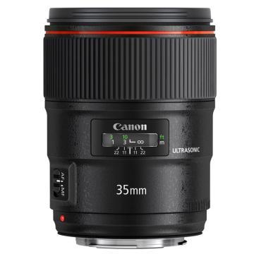 佳能Canon 数码单反镜头,广角定焦镜头 EF 35mm f/1.4L II USM