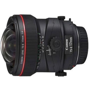 佳能Canon 数码单反镜头,移轴镜头 TS-E 17mm f/4L