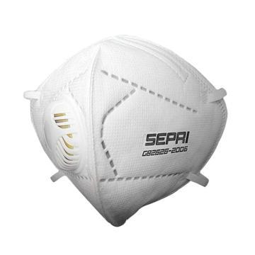 生普力 耳带式防尘口罩,容尘静电棉,KN95,E9551V