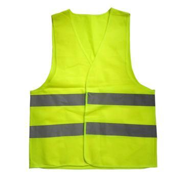 安賽瑞 經濟型反光背心,滌綸面料,熒光綠,均碼,21601,5件/包