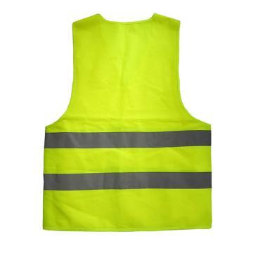 安赛瑞 经济型反光背心,涤纶面料,荧光绿,均码,21601,5件/包