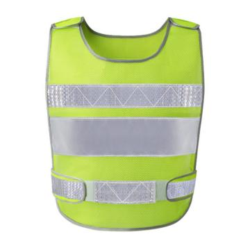 安賽瑞 透氣型反光背心,滌綸面料,熒光綠,均碼,21602,5件/包