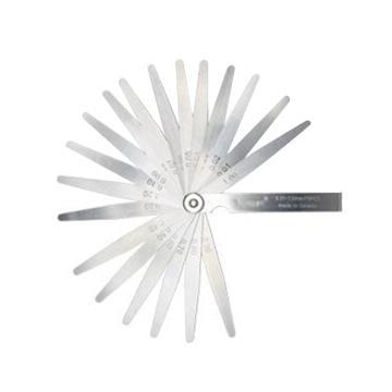 西域推荐 不锈钢塞尺,0.01-1mm,长100mm